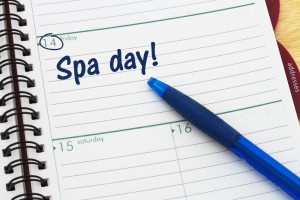 Schedule a spa day appointment