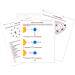 free printable astronomy tests and worksheets. Black Bedroom Furniture Sets. Home Design Ideas
