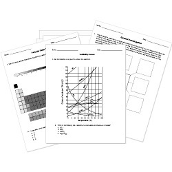 Printable Chemistry Worksheets