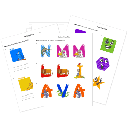 Early Education Free Printable Worksheets