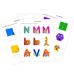 Free Early Education Printables - Coloring Pages, Alphabet, Colors ...