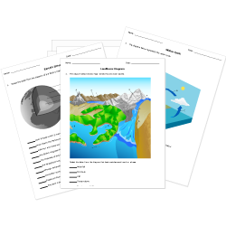 This is a photo of Divine Earth Science Printable Worksheets