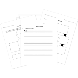 Printable Kindergarten Tests Worksheets And Activities