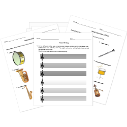 photo regarding Free Printable Music Worksheets identified as Totally free Printable New music Background and Basic principle Worksheets. Absolutely free