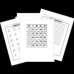 Free Printable Math Worksheet and Game Generators ...