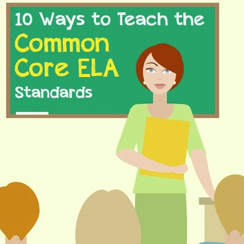 10 Ways to Teach the Common Core ELA Standards