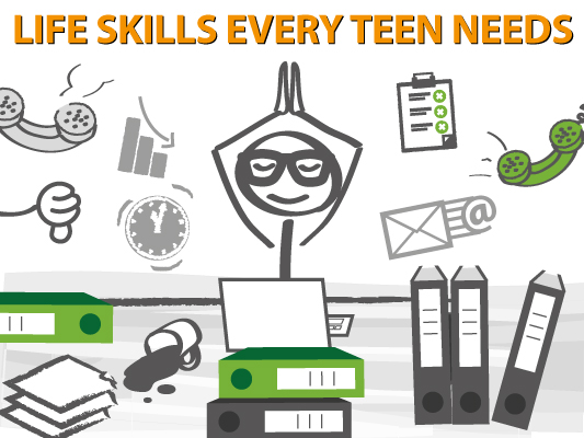 Worksheets Basic Living Skills Worksheets 9 life skills every teen needs