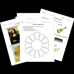 Arts Worksheets
