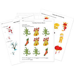 Christmas and Winter Worksheets